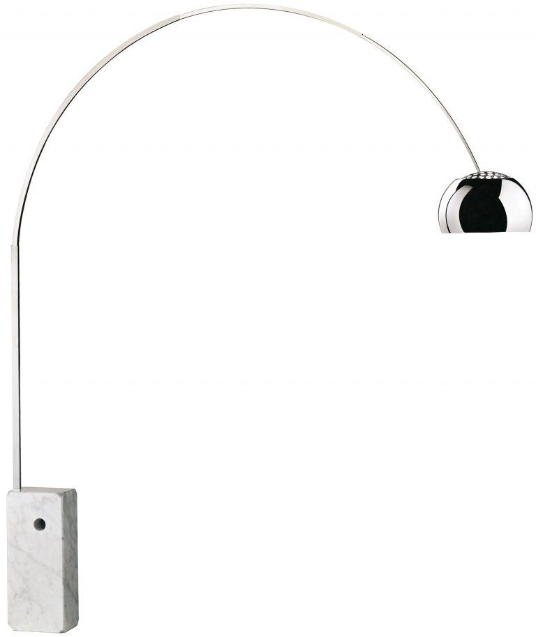 Flos Arco gulvlampe marmor Elministeren
