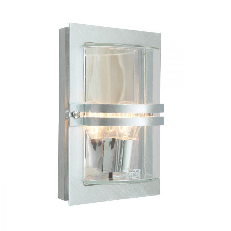 Basel 660 væglampe galvaniseret Elministeren