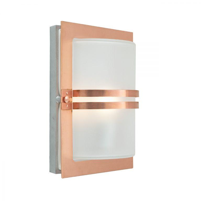 Basel 661 væglampe kobber Elministeren