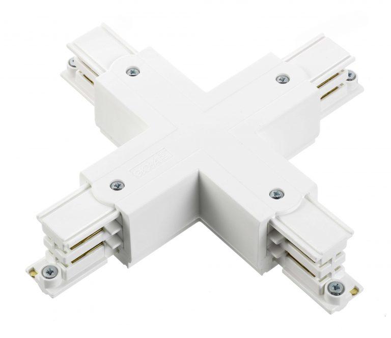 Global 3F X-stykke GB38 Hvid