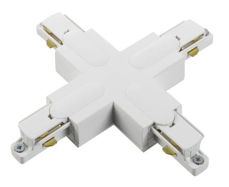 Global 1F X-stykke GB38 Hvid