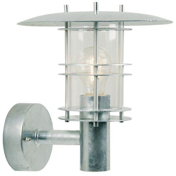 Nordlux Fredensborg væglampe galvaniseret Elministeren