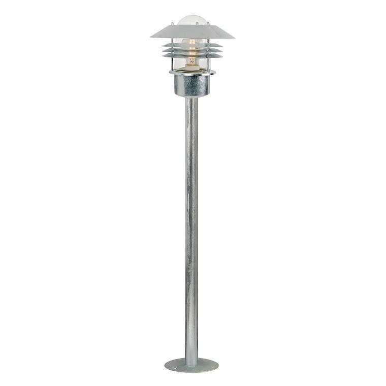 Nordlux Vejers havelampe galvaniseret Elministeren