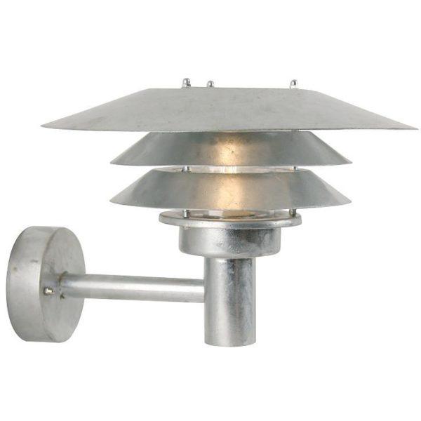 Nordlux Venø væglampe galvaniseret Elministeren