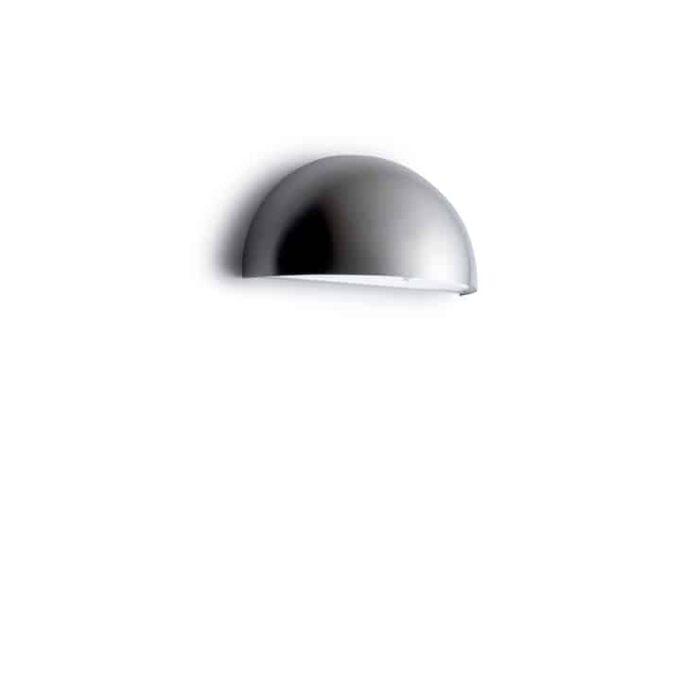 Rørhat LED væglampe rustfri Elministeren