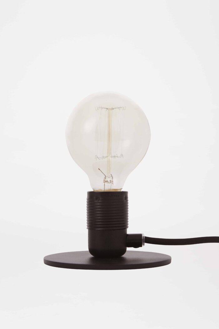 Frama E27 bordlampe sort Elministeren