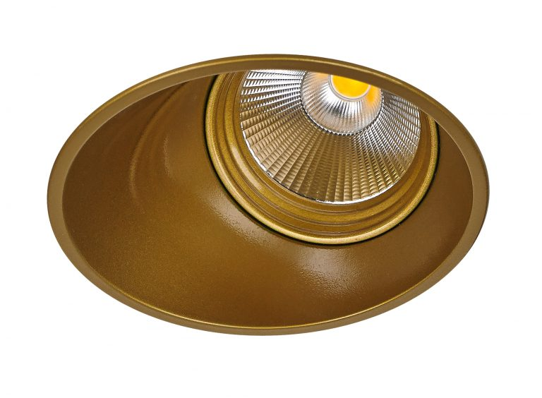 Karizma Muro LED downlight guld Elministeren