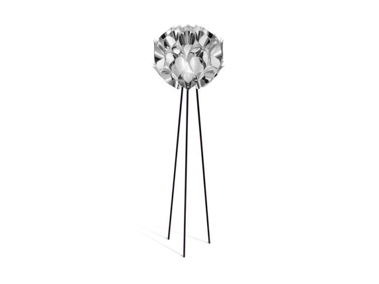 Slamp Flora sølv gulvlampe Elministeren