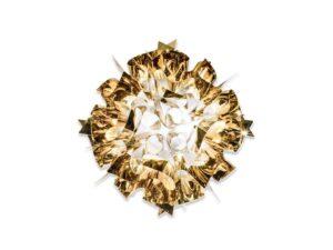 Slamp Veli M væglampe guld Elministeren