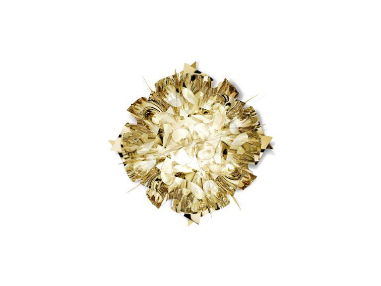 Slamp Veli Mini væglampe guld Elministeren