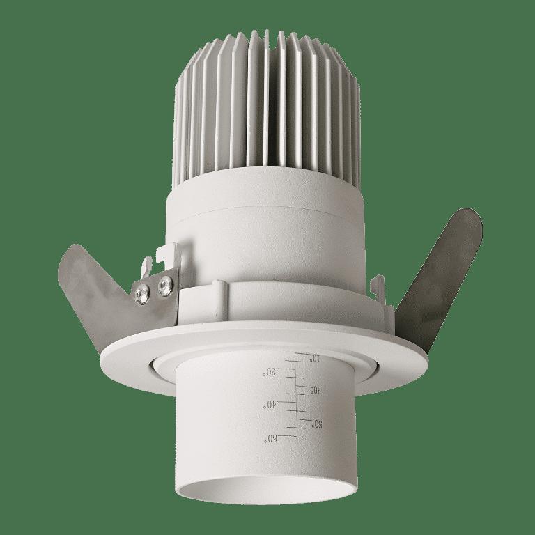 Norlux Zoom recessed hvid installation Elministeren