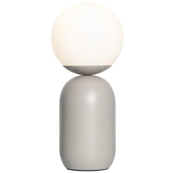 Nordlux Notti bordlampe grå